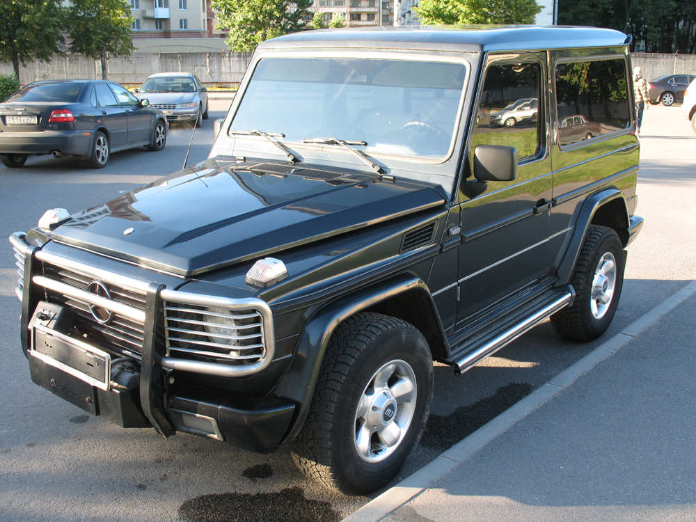Used 1994 mercedes benz g class photos 3500cc diesel for Mercedes benz g500 used