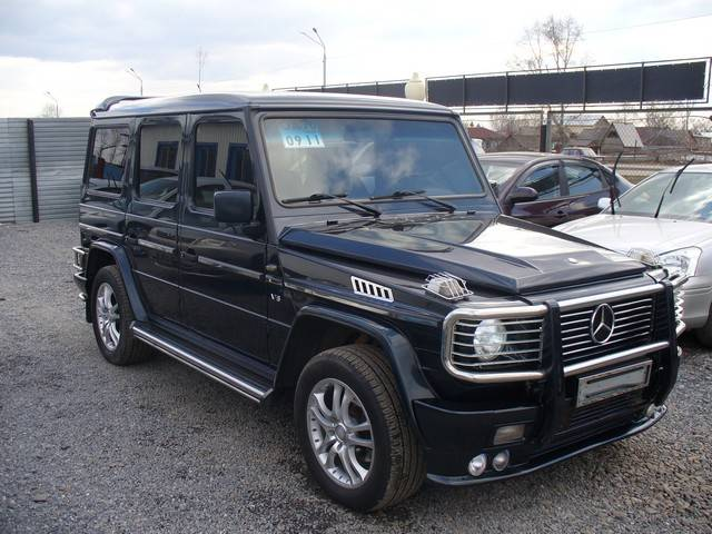 2000 mercedes benz g class pictures gasoline for Used g500 mercedes benz sale