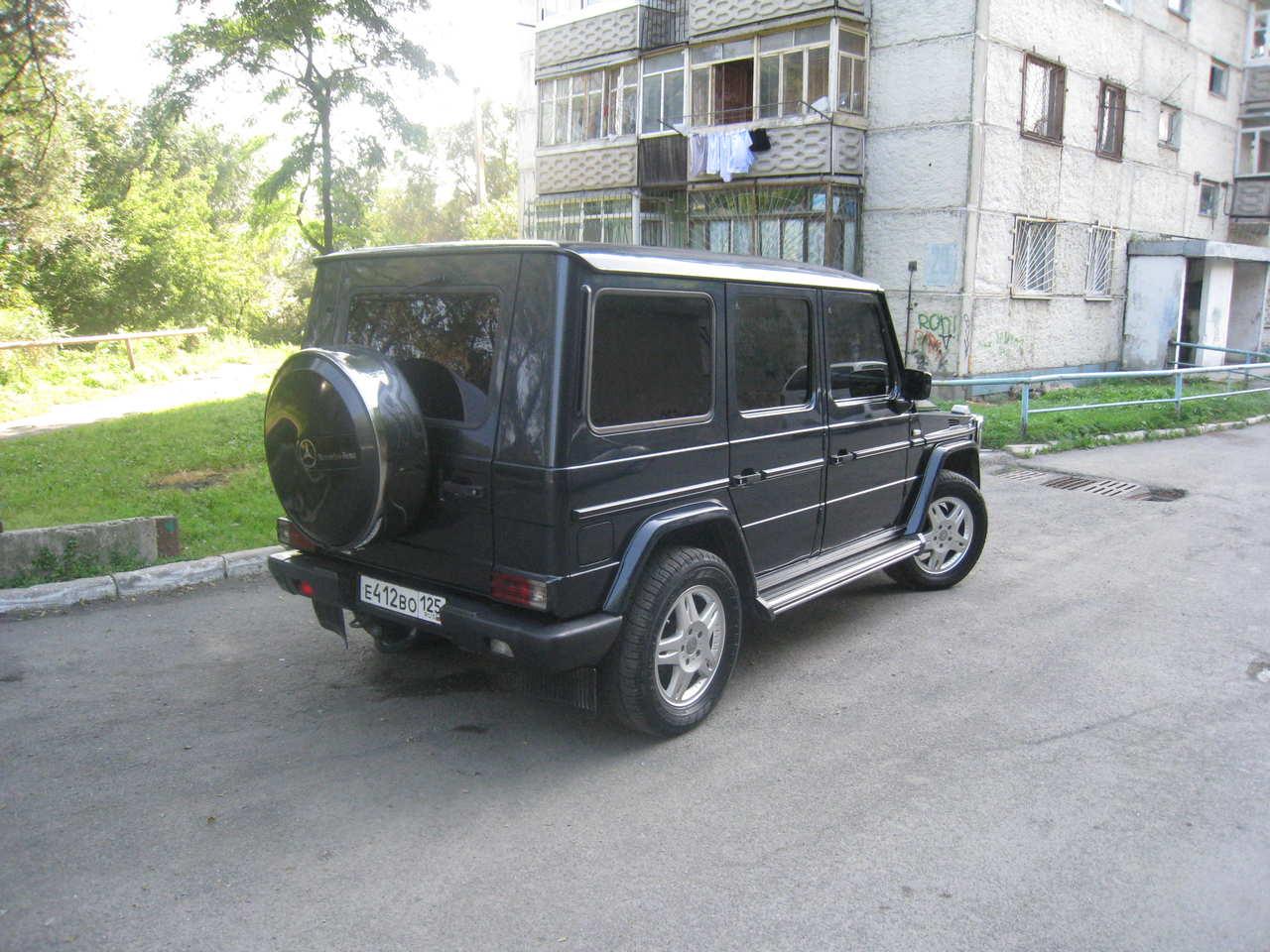 2000 Mercedes Benz G Class Photos 3 0 Diesel Automatic