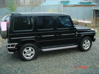 2002 mercedes benz g class photos 5 0 gasoline. Black Bedroom Furniture Sets. Home Design Ideas
