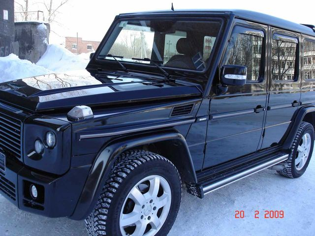 Used 2004 mercedes benz g class images for Mercedes benz g500 used