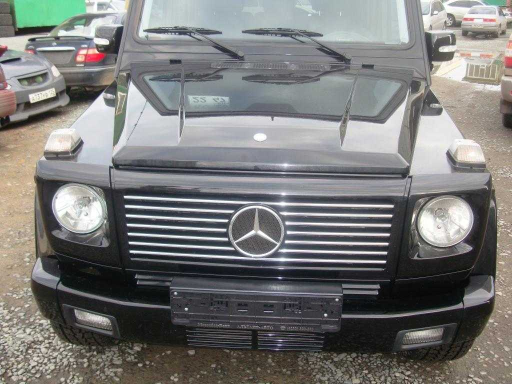 used 2004 mercedes benz g class photos 5000cc gasoline automatic for sale. Black Bedroom Furniture Sets. Home Design Ideas