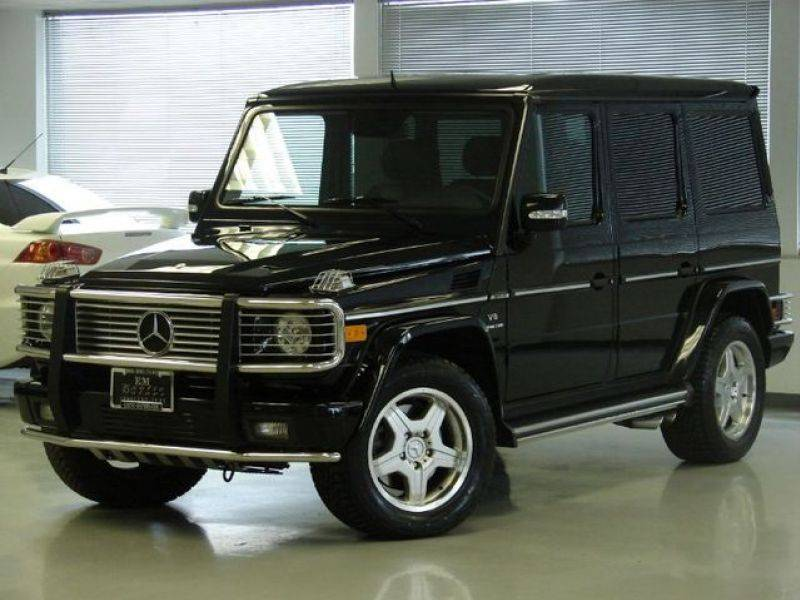 2006 mercedes benz g class pictures 5500cc gasoline for for Mercedes benz g class sale