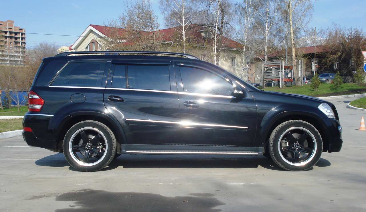 2008 mercedes benz gl class pics 5 5 gasoline automatic for Mercedes benz gl class 2008 for sale