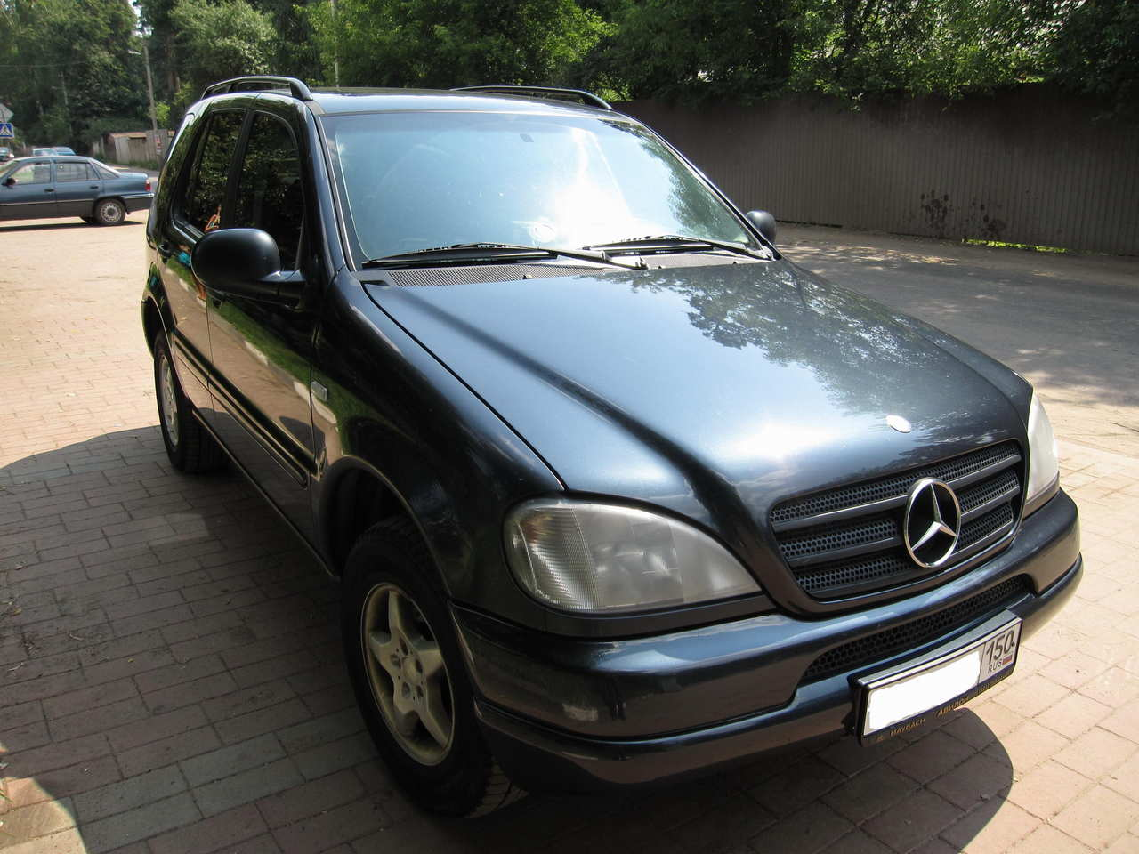1999 mercedes benz ml class wallpapers gasoline. Black Bedroom Furniture Sets. Home Design Ideas