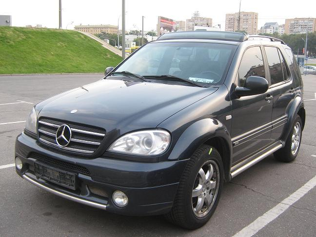 Used 1999 Mercedes Benz Ml Class Photos 4266cc Gasoline