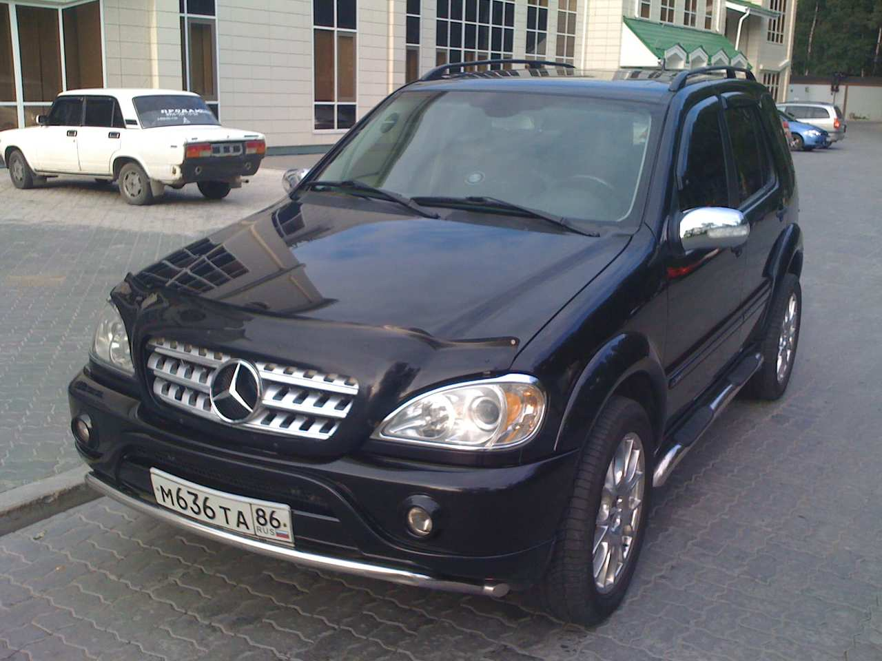2002 mercedes benz ml class pics 3 2 gasoline automatic. Black Bedroom Furniture Sets. Home Design Ideas