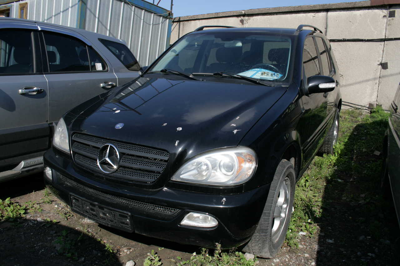 2002 mercedes benz ml class pictures 3200cc gasoline. Black Bedroom Furniture Sets. Home Design Ideas
