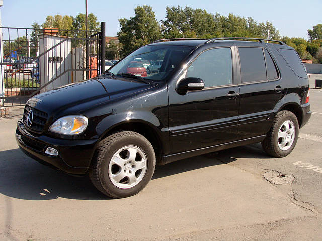 2004 mercedes benz ml class pictures 3800cc gasoline. Black Bedroom Furniture Sets. Home Design Ideas