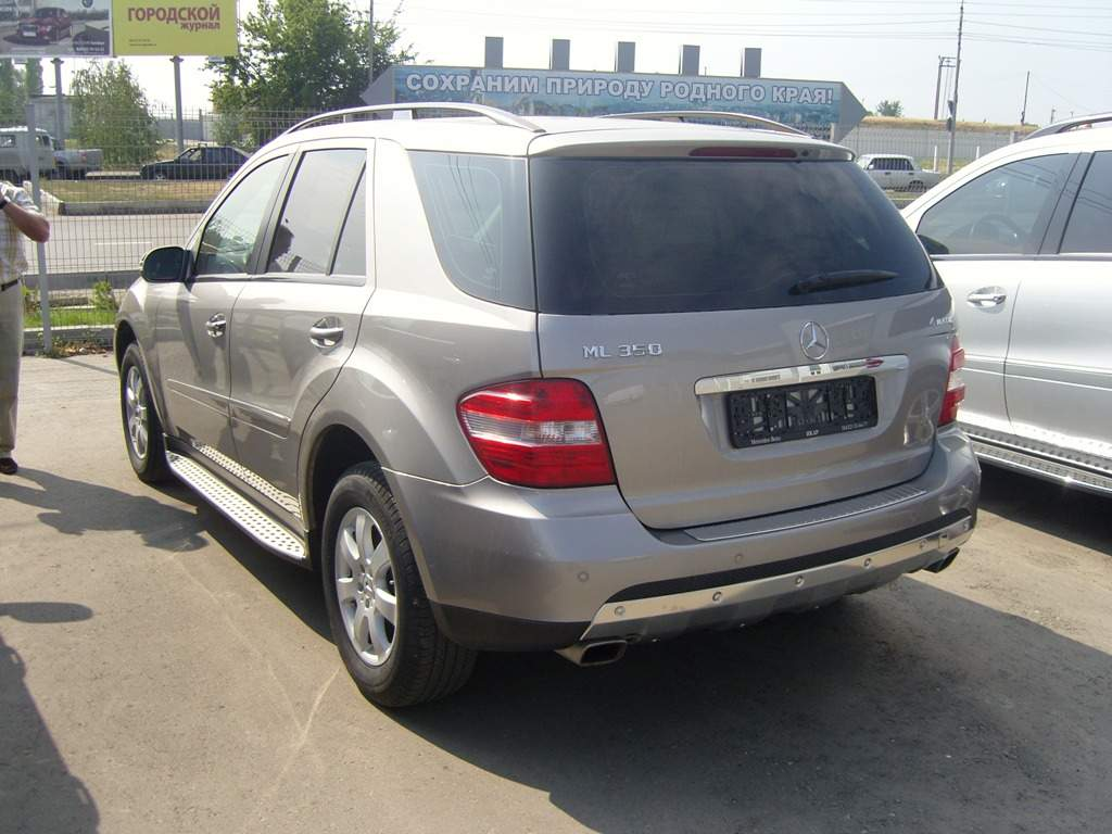 2007 mercedes benz ml class pics 3 5 gasoline automatic for sale. Black Bedroom Furniture Sets. Home Design Ideas