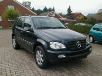 2002 mercedes benz ml270 pictures diesel automatic for sale. Black Bedroom Furniture Sets. Home Design Ideas