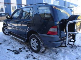 1998 mercedes benz ml320 pictures gasoline for Mercedes benz ml320 transmission problems
