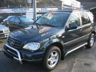 2001 mercedes benz ml320 for sale for sale. Black Bedroom Furniture Sets. Home Design Ideas