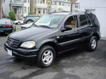 Mercedez Benz On 2001 Mercedes Ml320 Pictures 3 2l Gasoline Ff Automatic For