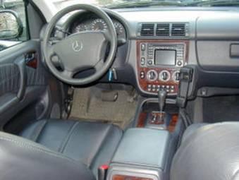 2002 Mercedes Benz Ml320 Photos 3200cc Gasoline Automatic For Sale