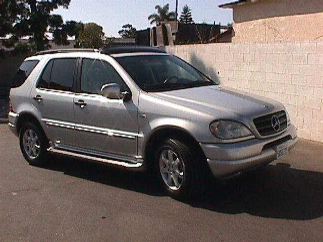 2001 mercedes benz ml430 pictures 4300cc gasoline