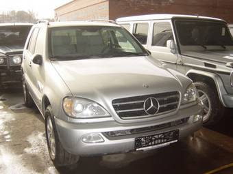 2002 mercedes benz ml500 pictures gasoline for Mercedes benz ml500 for sale