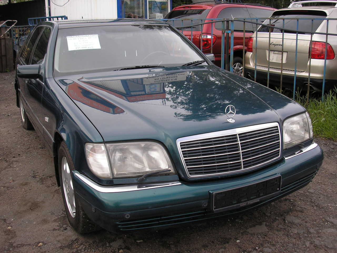 1990 mercedes benz s class pictures gasoline fr for Mercedes benz 1990