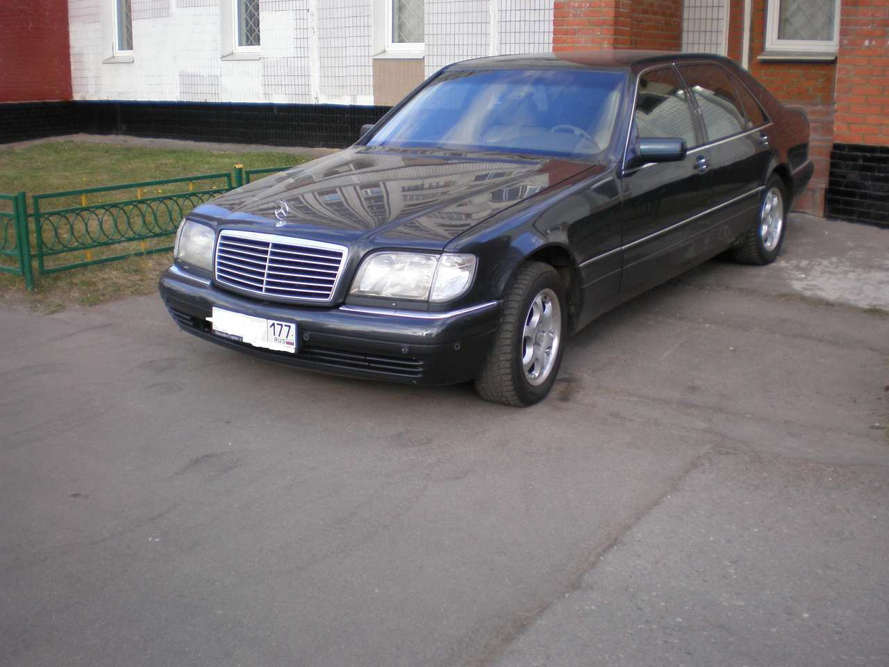 Service manual 1995 mercedes benz s class manual for Mercedes benz s550 car cover