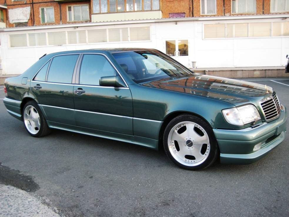 1995 mercedes benz s class for sale 6000cc gasoline fr for Mercedes benz s500 for sale