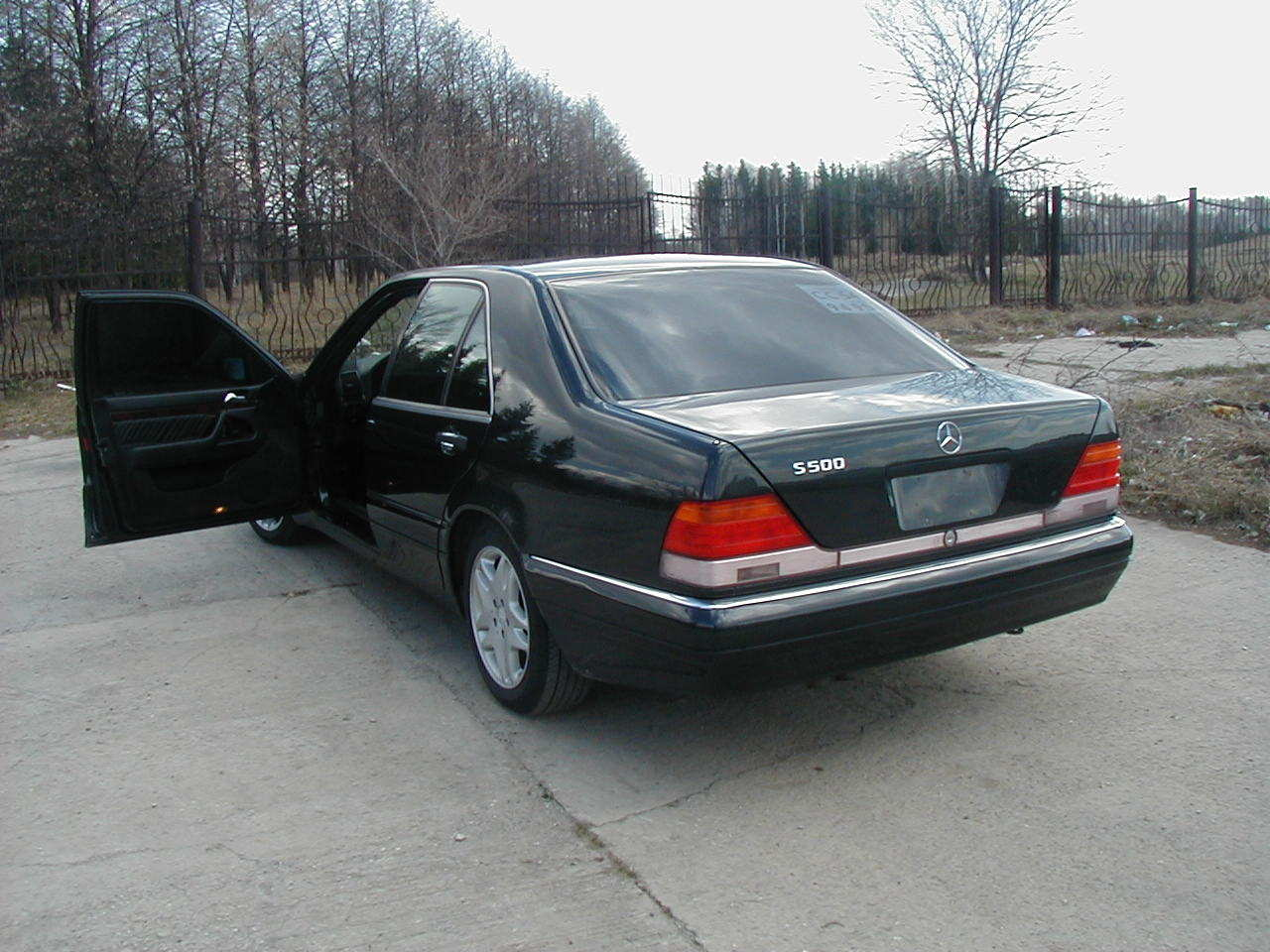 1995 mercedes benz s class pictures gasoline fr for 1995 mercedes benz s class