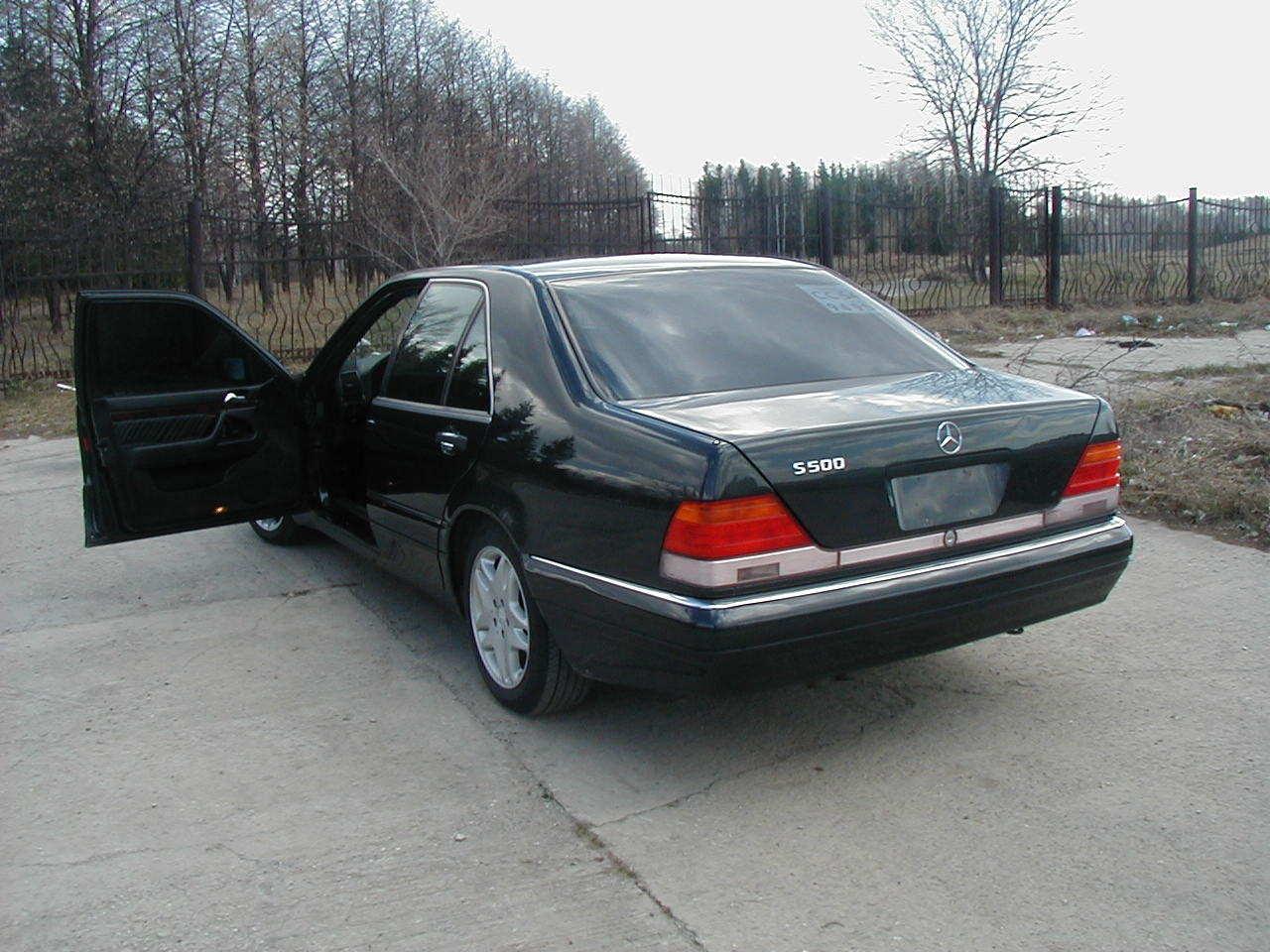 1995 mercedes benz s class pictures gasoline fr for 1995 mercedes benz s class