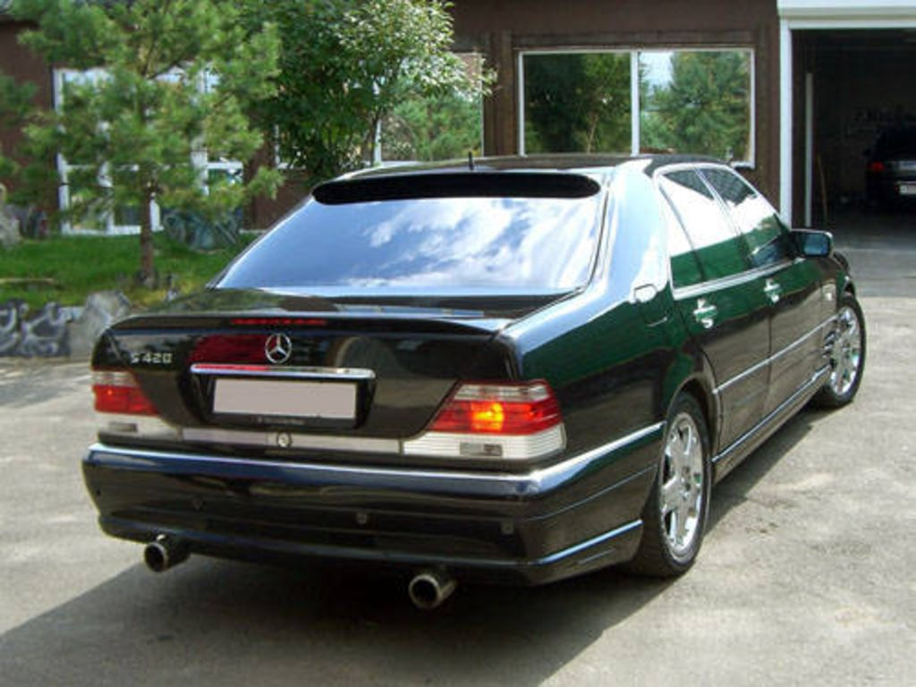 1997 mercedes benz s class pictures. Black Bedroom Furniture Sets. Home Design Ideas