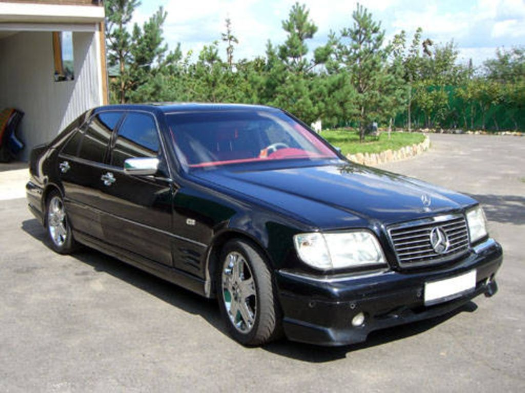 1997 mercedes benz s class pictures