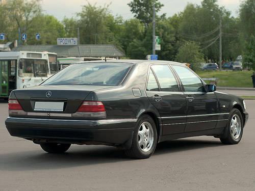 1997 Mercedes Benz S Class Images 3200cc Gasoline Fr