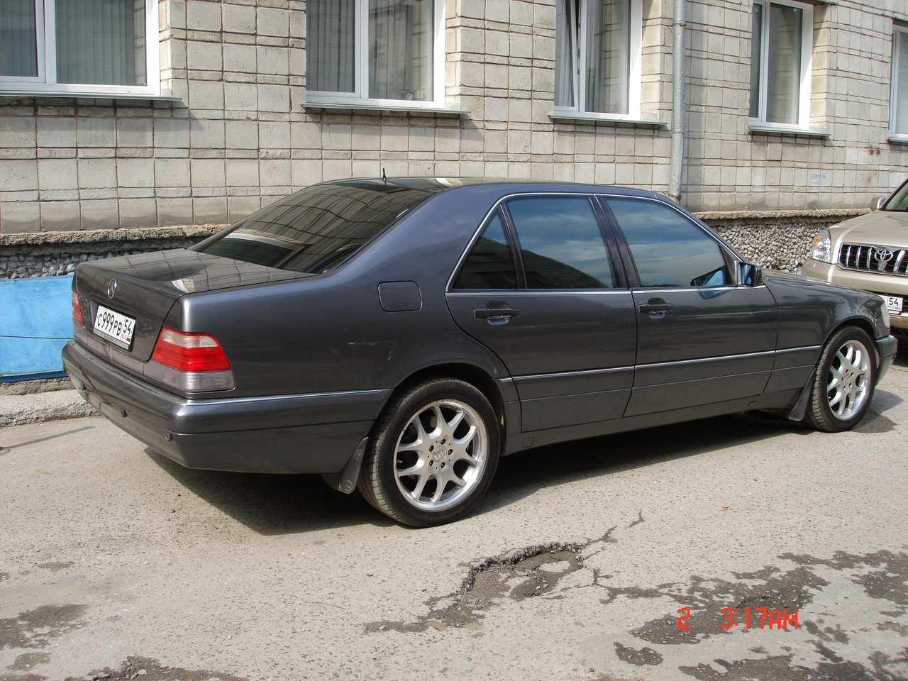1997 Mercedes Benz S Class Photos 4 2 Gasoline Fr Or Rr