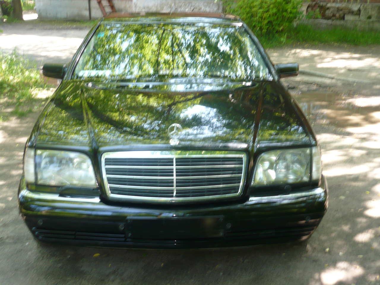 1997 Mercedes Benz S Class Pictures 5000cc Gasoline Fr