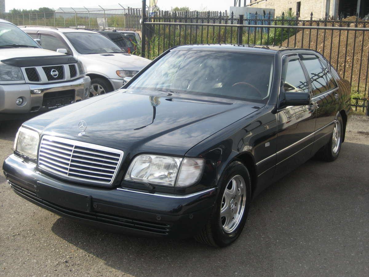 1997 Mercedes Benz S Class Photos 6 0 Gasoline Fr Or Rr
