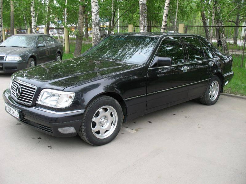 1997 Mercedes Benz S Class Pictures 3500cc Gasoline