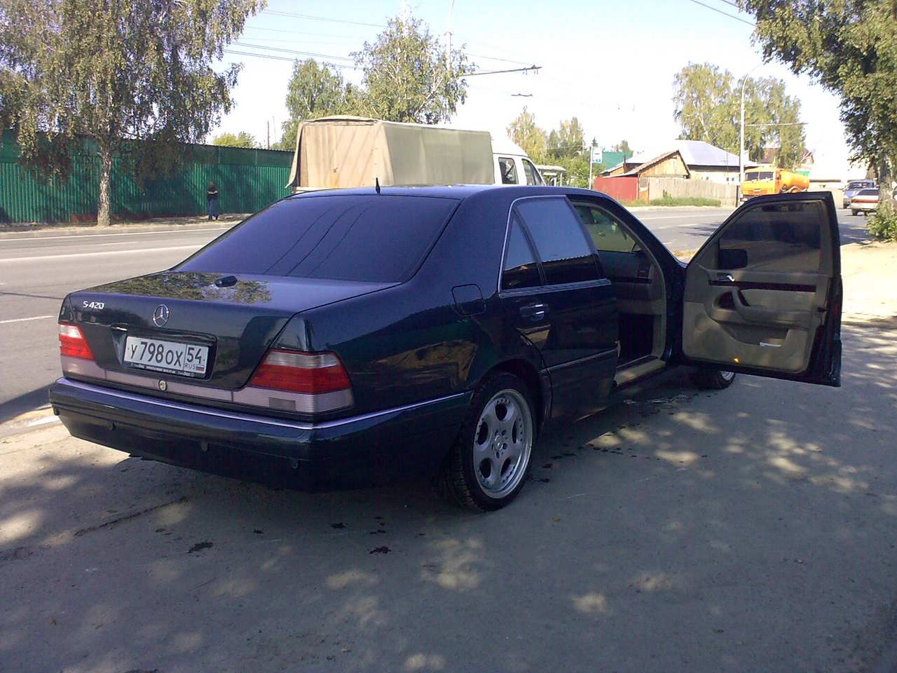 1997 Mercedes Benz S Class Wallpapers 4 2l Gasoline Fr