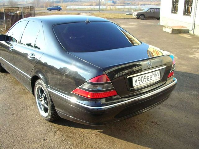 2000 mercedes benz s class for sale