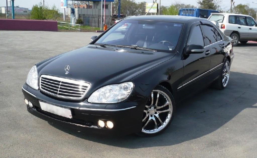 2000 Mercedes Benz S
