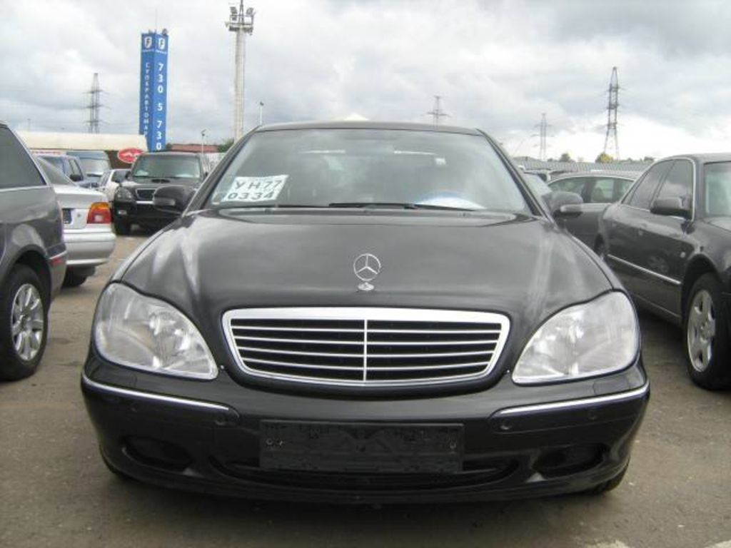 2001 mercedes benz s class for sale