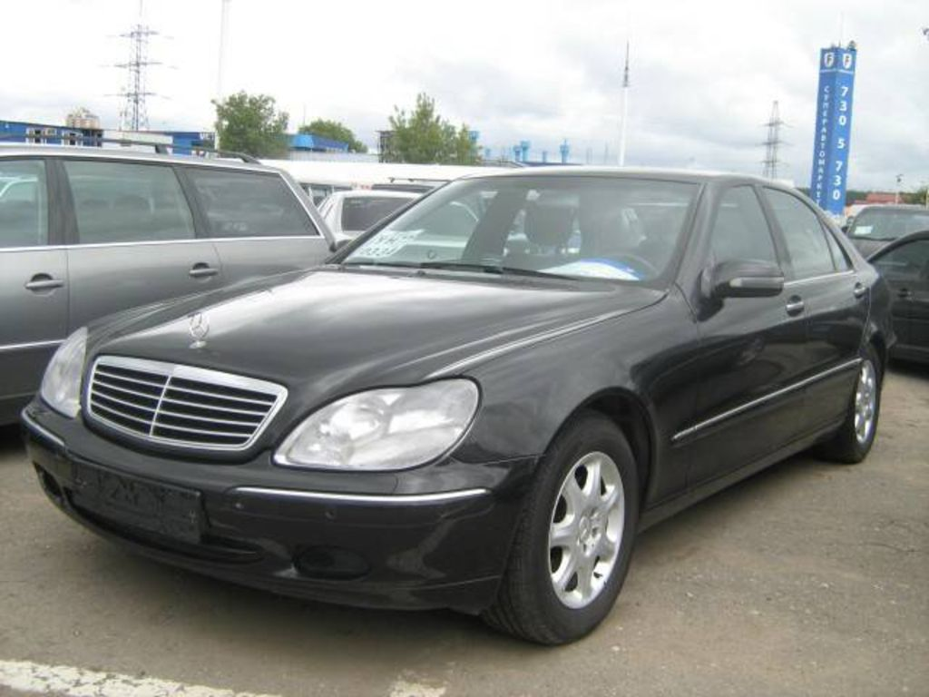 Used 2001 mercedes benz s class wallpapers for Mercedes benz s class 2001