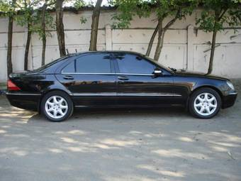 2002 Mercedes Benz S-class For Sale