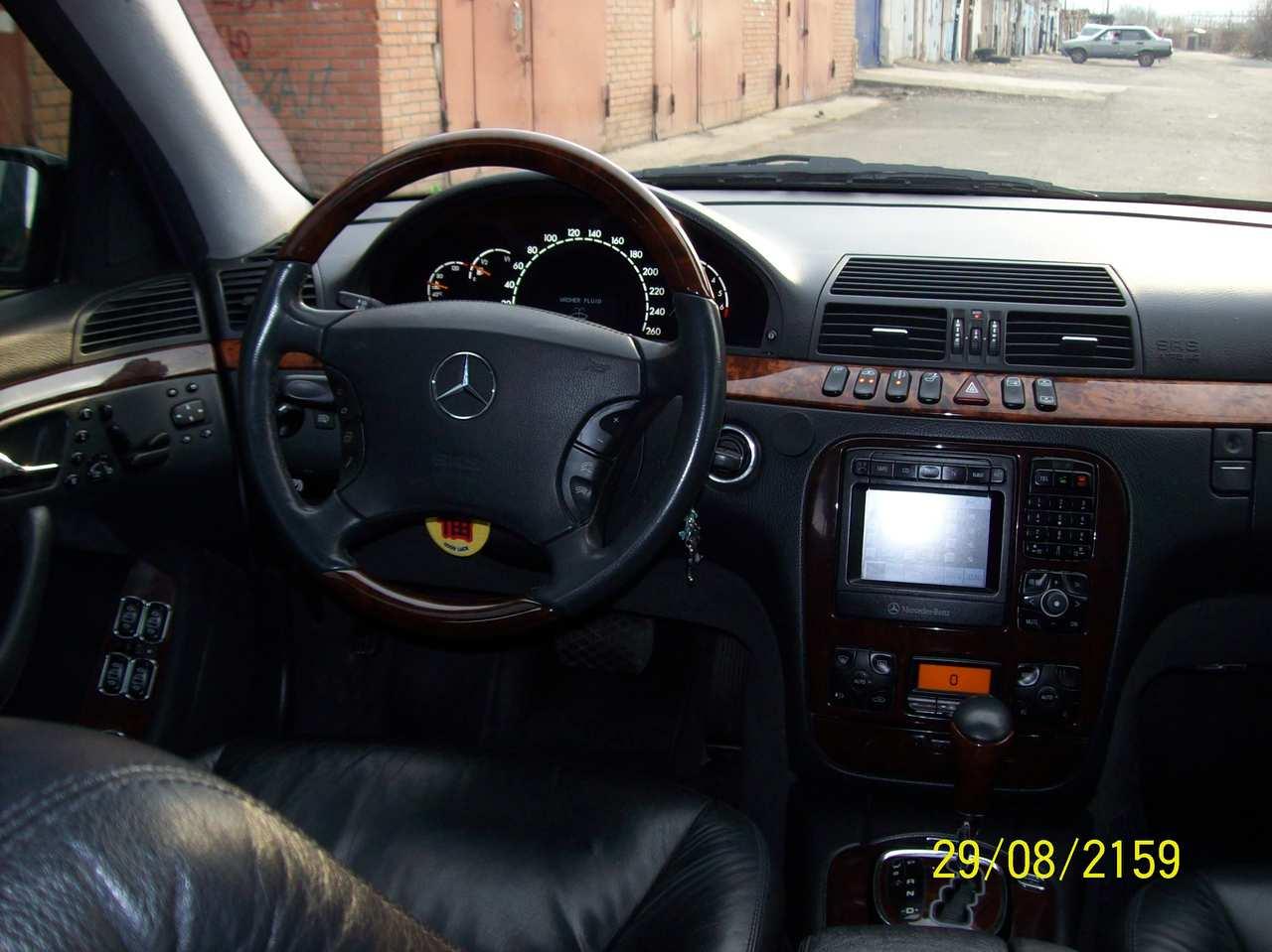 2003 mercedes benz s class for sale 5 4 gasoline fr or. Black Bedroom Furniture Sets. Home Design Ideas