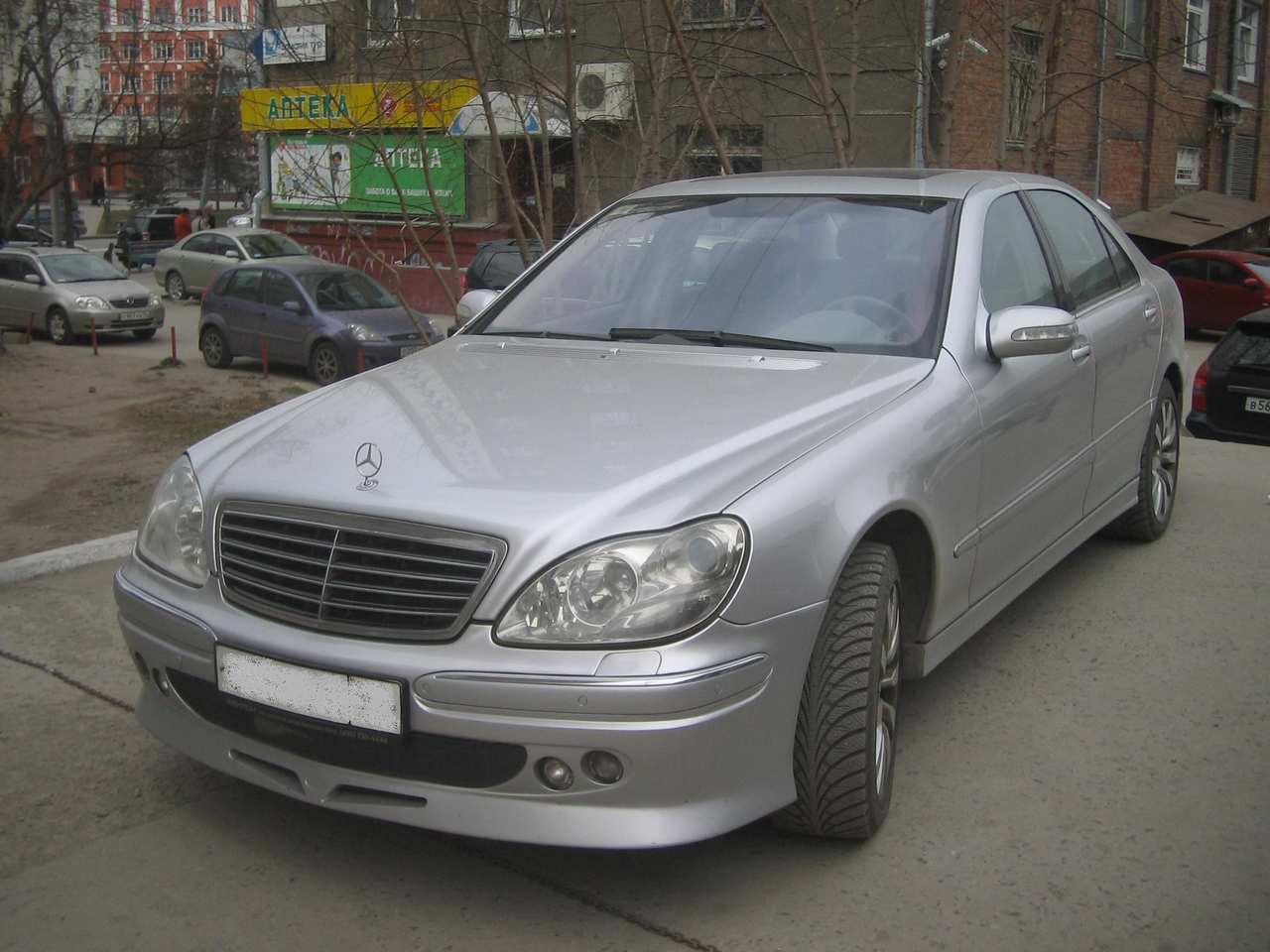 used 2004 mercedes benz s class photos 4966cc gasoline automatic for sale. Black Bedroom Furniture Sets. Home Design Ideas