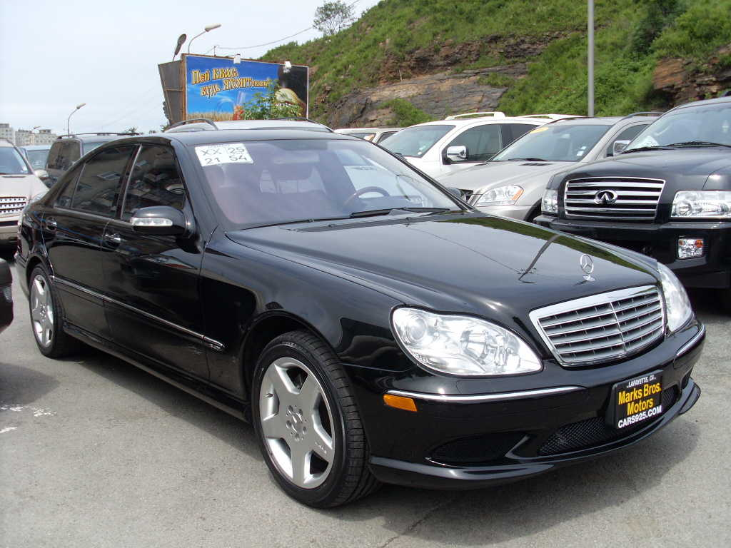 2005 mercedes benz s class for sale 5 5 gasoline fr or for Mercedes benz 2005 for sale