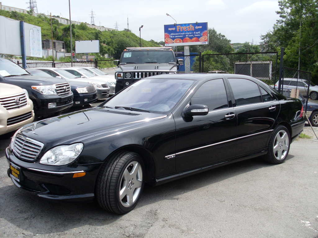 2005 mercedes benz s class pictures gasoline fr for Mercedes benz s class 2005 for sale