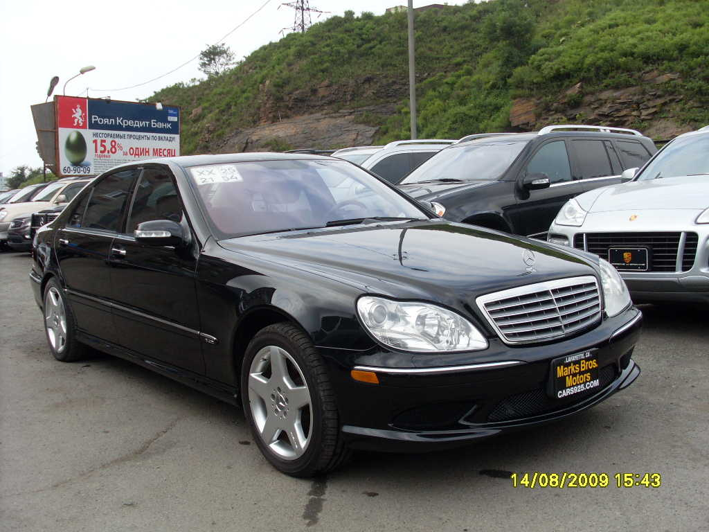 2005 mercedes benz s class wallpapers gasoline fr or rr automatic for sale. Black Bedroom Furniture Sets. Home Design Ideas