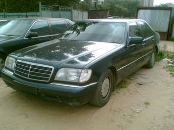 Used 1997 mercedes benz s320 pics 3 2 gasoline fr or rr for 1997 mercedes benz s320