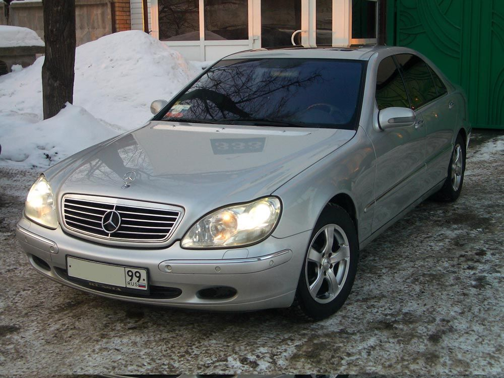 2000 mercedes benz s320 pictures for sale