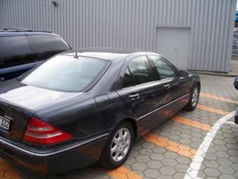 2001 mercedes benz s320 photos 3 2 gasoline fr or rr for 1999 mercedes benz s320 problems