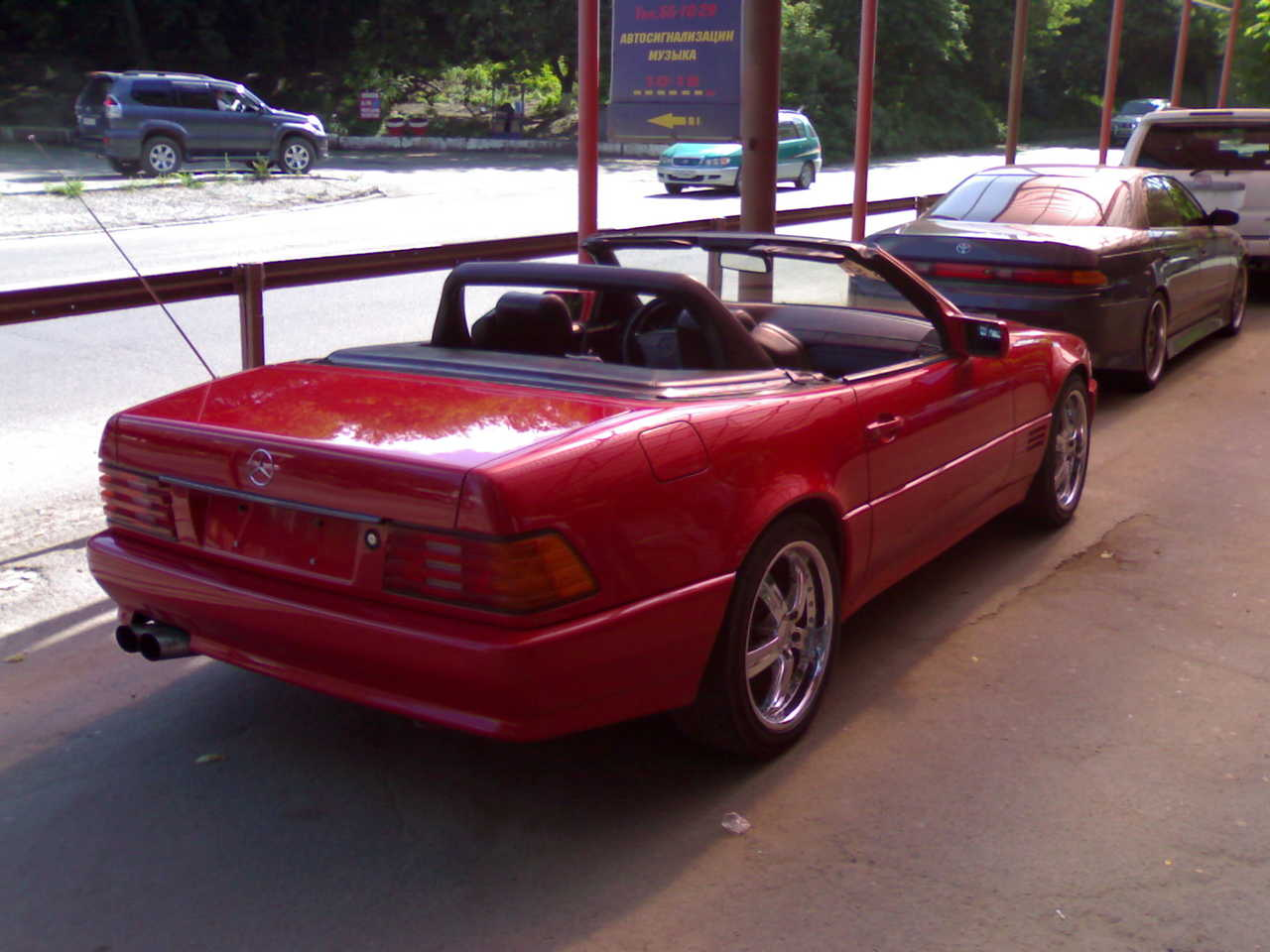 1992 mercedes benz sl class pictures gasoline fr for 1992 mercedes benz sl500