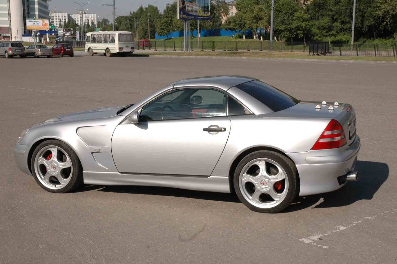 1998 Mercedes Benz Slk-class Photos, 2.3, Gasoline, FR or RR ...