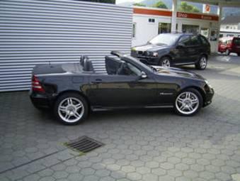 2002 Mercedes Benz Slk Tuning Wallpapers 3 2l Gasoline